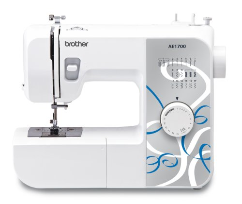 Brother AE1700 Sewing Machine with Instructional DVD, 17 Stitch