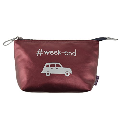 INCIDENCE TROUSSE S - London Colorama - weekend - Rouge bordeaux