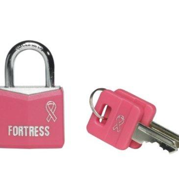 Master Lock Cadenas en aluminium Édition spéciale pour la lutte contre le cancer du sein fille Rose 30 mm