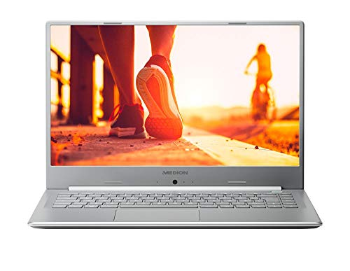 MEDION P6645 39,5 cm (15,6 Zoll) Full HD Notebook (Intel Core i7-8565U, 8GB DDR4 RAM, 1TB HDD, 256GB SSD, Nvidia GeForce MX150, Akku Schnellladefunktion, Win 10 Home)