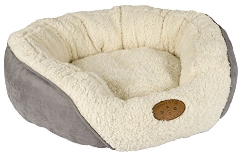 Banbury & Co Luxus-Hundebett / -Katzenbett, klein