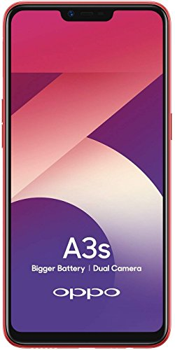 OPPO A3s (Red, 3GB RAM, 32GB Storage) with Offers