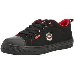 Lee Cooper Workwear Lcshoe054, Chaussures de sécurité Adulte Mixte - Noir (Black), 41 EU