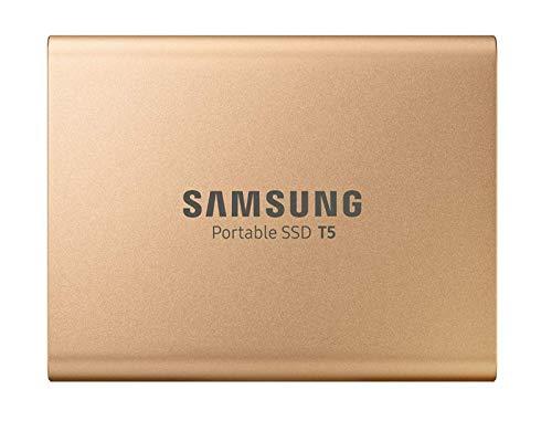 Samsung T5 MU-PA1T0G/EU SSD Portatile da 1 TB, USB 3.1 Type-C, Fino a 540 MB/s, Oro Rosa