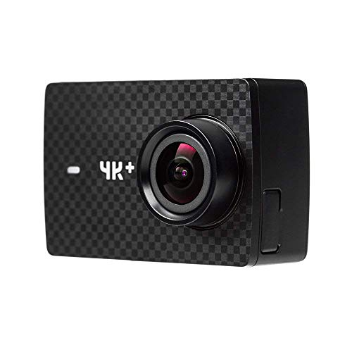 Yi 4 K Plus Action Fotocamera 4 K/FPS 12 MP Action Cam con 5,56 cm (2,2 Pollici) LCD Touch Screen 155 ° Obiettivo Grandangolare, Comando Vocale, WiFi e App per iOS/Android – Nero