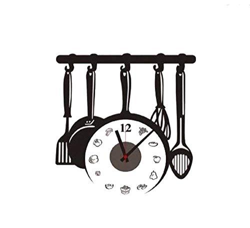 3d orologio da parete 50cm Orologio da te personalizzabile Do It Yourself Adesivo CD 836Orologio da cucina
