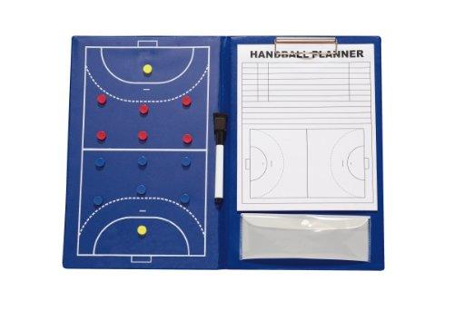 Rucanor HA - Pizarra de fútbol para entrenador de Handbol, color azul