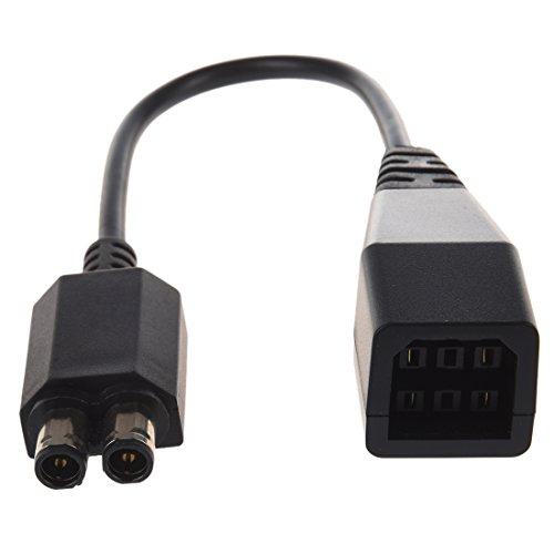 Dcolor Cable de Adaptador CA Fuente de Alimentacion para Microsoft Xbox 360 Slim Juego de Video