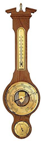 Eschenbach Sheraton 542411 Stazione meteorologica meccanico in legno massiccio di quercia