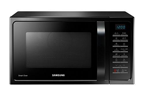Samsung MC28H5015AK Encimera 28L 900W Negro – Microondas (358 x 327 x 235,5 mm)