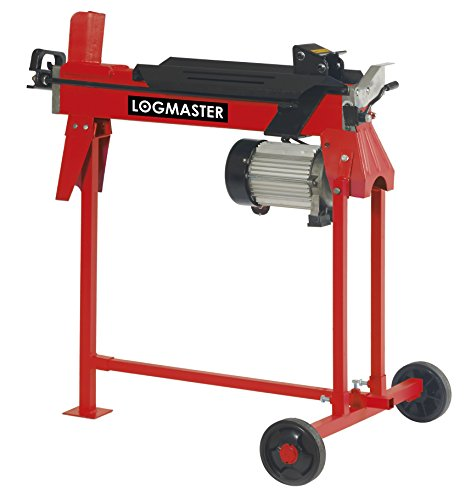 Now this a powerful log splitter with 6 tons of force capable of handling logs that have defied the strongest axes out there. The speed is an impressive 100 logs per hour and the chopped logs are sizeable for virtually any fireplace. The log splitter is easy to use, which is basically a simple press of a button, placing and removing logs. No noise annoyance either as it runs pretty silently.