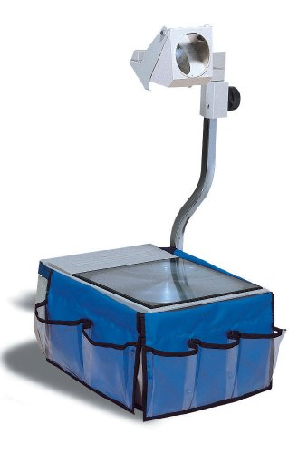 "Pacon Overhead Projector Caddy, 12""X7.5"" Each Side, Blue"