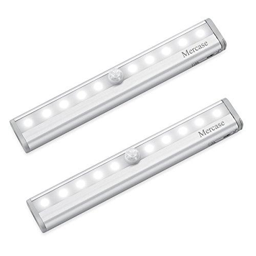 Luce Notte Led con Sensore,Luce LED Sensore di Movimento con Striscia Magnetica Adesiva,Luce Notte...