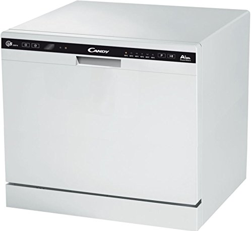 Candy CDCP 8 / E Freestanding 8place settings A+ dishwasher - dishwashers (Freestanding, White,...