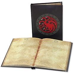 """Cuaderno de Notas """"Games of Thrones"""" con el Sello iluminante """"Casa Targaryen"""""""
