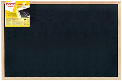 Arda 878 Lavagna per il Gesso, Nero, 60 X 90 cm