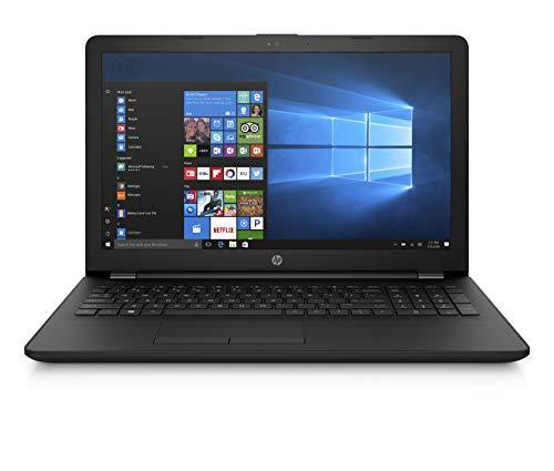 """HP 15-bs130ns - Ordenador portátil 15.6"""" HD (Intel Core i7-8550U, RAM de 8 GB, HDD de 1 TB, Discreto AMD Radeon 530 4 GB, Windows 10), negro - Teclado QWERTY Español"""