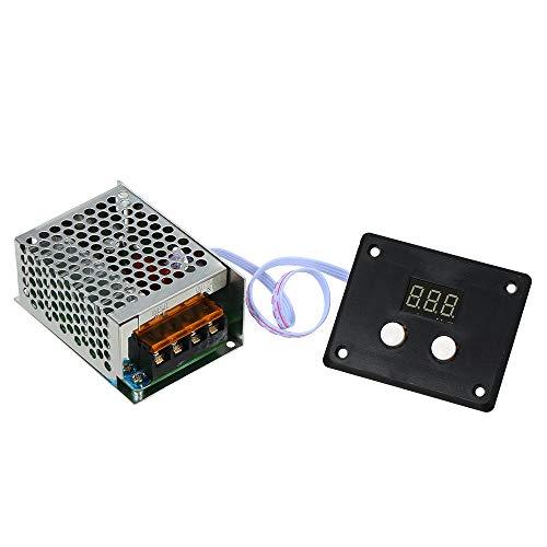 docooler Voltage Regulator SCR tiristore Regolatore Digitale elettronico Regolatore di velocità...