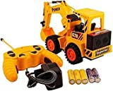 higadgetTM Remote Controlled Battery Operated Jcb Truck - Multi Color