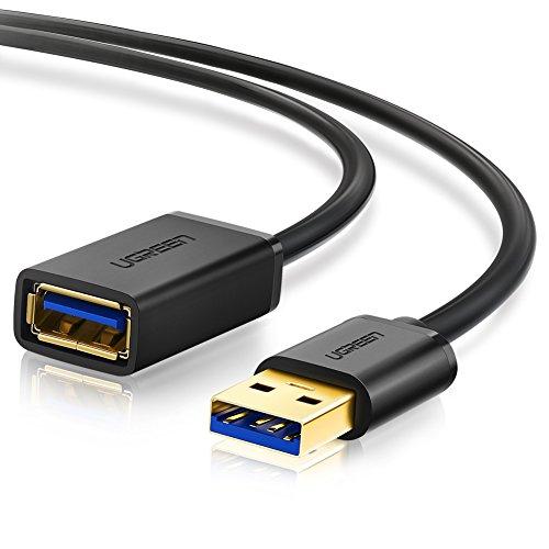 UGREEN Cavo Prolunga USB 3.0 Maschio A Femmina A 5Gbps Cavo Estensione USB 3.0 Placcato Oro per...