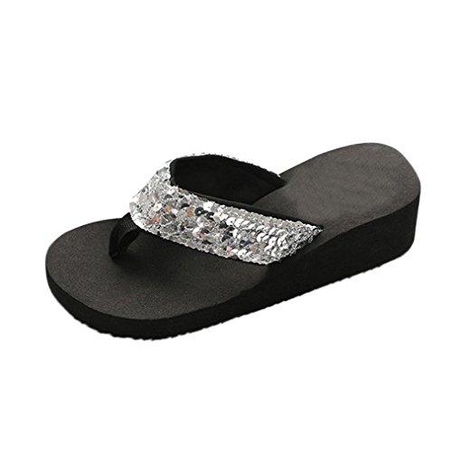 bd97752af0 UOMOGO® Pantofole Donna Estive Infradito Pantofole Sandali da Spiaggia  Scarpe Casual Ciabatte Piscina - Prezzo lato