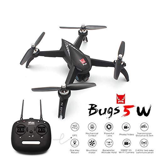 ETbotu MJX Bugs 5W B5W GPS Brushless RC Quadricottero con 5G 1080P WiFi FPV Camera HD Ritorno Automatico Drone Professionale