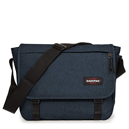 Eastpak Delegate + Borsa Messenger, 39 cm, 20 liters, Blu (Triple Denim)