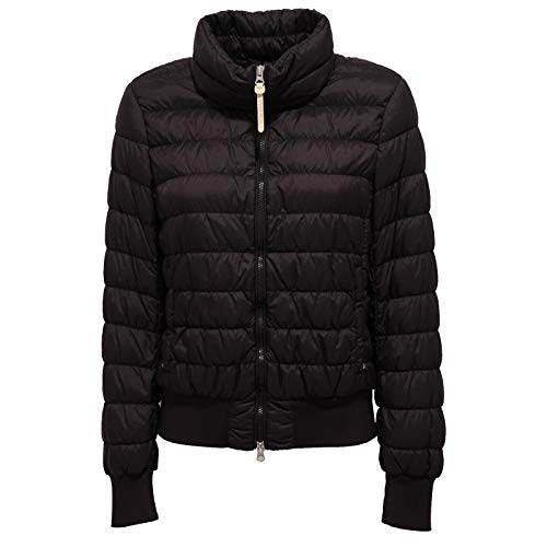 Woolrich 2191J Giubbotto Donna Bomber Black Ultralight Jacket Woman [L]