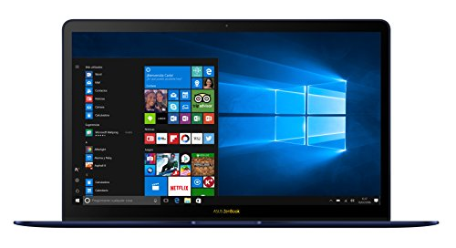"ASUS UX490UA-BE029T - Portátil de 14"" FHD (Intel Core i5-7200U, RAM de 8 GB, SSD de 256 GB, integrada Intel HD Graphics 620, Windows 10) azul metal - teclado QWERT Español"