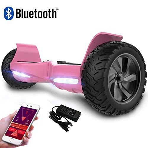 RCB Hoverboard Scooter elettrico fuoristrada Scooter 8.5 '' Hummer LED APP Bluetooth integrato con...