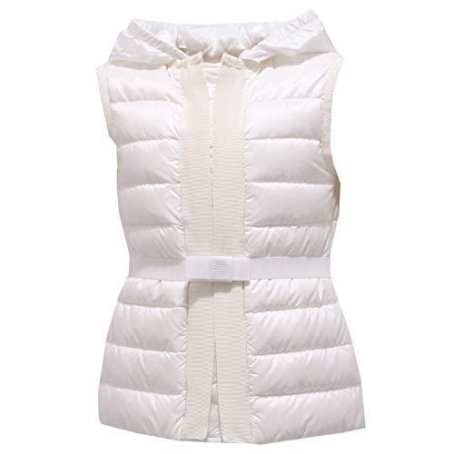 Moncler 0974Y Piumino Smanicato Girl Bimba Peridot White Jacket [6 Years]