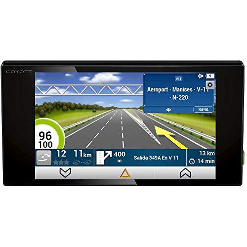 Coyote NAV - El Asistente a la Conducción - GPS con mapa 2D - Alertas en tiempo real - Anticipa los peligros hasta 30 km - Pantalla HD de 5,5'