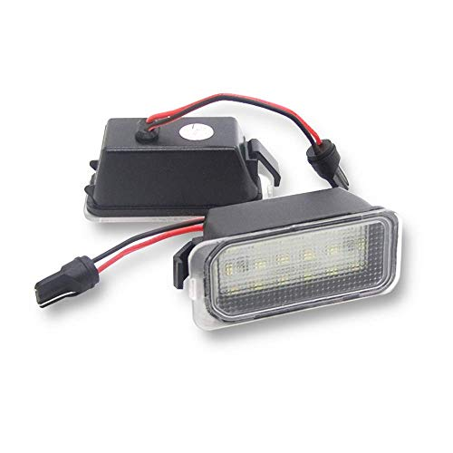 GZLMMY 2 auto luci LED Canbus per Fiesta JA8 Focus S-MAX C-MAX Mondeo Kuga Galaxy 2010 18SMD, colore...