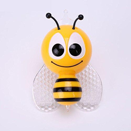 WINOMO Luci notturne dell'ape Design luce-Controll muro notturna per bebè e bambini piccoli