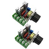 HiLetgo 2pcs 2000W AC Motor Speed Control Controller...