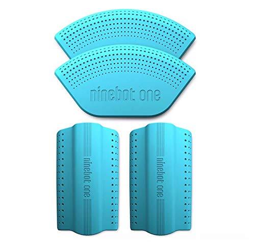 SPEDWHEL Housse de Protection en Silicone de Couleur pour monocycle électrique NINEBOT A1 / S2 / S1 (Bleu)
