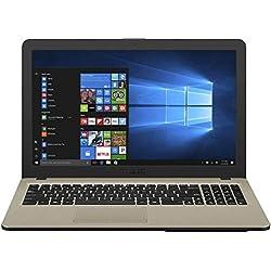 Asus Vivobook X540MA-GQ024T 15.6-inch Laptop (Intel Celeron N4000/4GB/500GB/Windows 10/Integrated Graphics), Chocolate Black