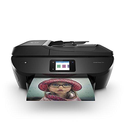 HP ENVY Photo 7830 Multifunktionsdrucker (Instant Ink, Drucken, Scannen, Kopieren, Faxen, WLAN, Airprint) inklusive 4 Monate Instant Ink