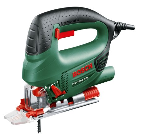 Bosch 0.603.3A0.100 Sierra de calar 240 V, 530 W, 80 mm profundidad de corte