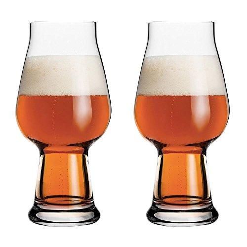 Luigi Bormioli Birrateque, bicchieri per birra IPA Ale, 1 pinta, set di 2