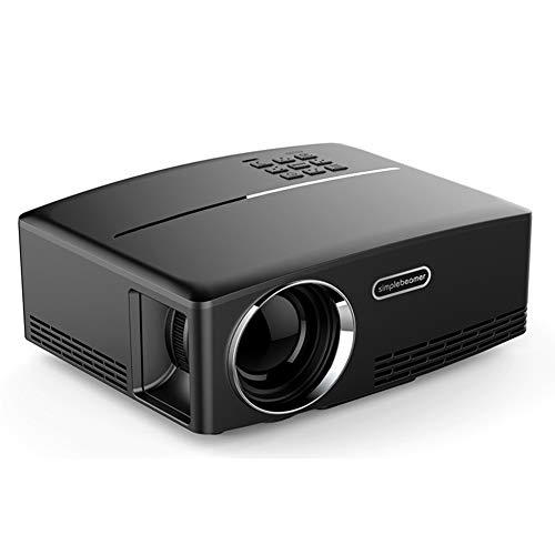 OWEM Mini Proiettore Portatile con 1800 Lumen Max 180' Proiettore Video LED Supporto 1080P,...