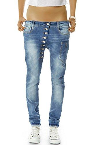 bestyledberlin Damen Boyfriend Jeans Baggy Style Damenjeans Skinny Fit...