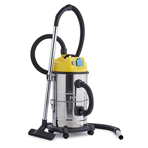 Klarstein Reinraum • Aspirapolvere industriale • 1800 watt • Filtro di raccolta • Funzione...