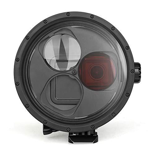 SHOOT Custodia Impermeabile con Filtro Rosso e Filtro Macro 10X per GoPro Hero 7 Black/Hero 6/Hero 5-Impermeabile Fino a 45M/147 piedi