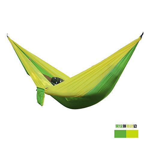 SHLYXY Viaggio Amaca,Altalena Letto per 2 Persone con Corde * 2m,Zaino Beach Viaggi Tempo Libero Jungle Adventure Amaca da Campeggio Portatile