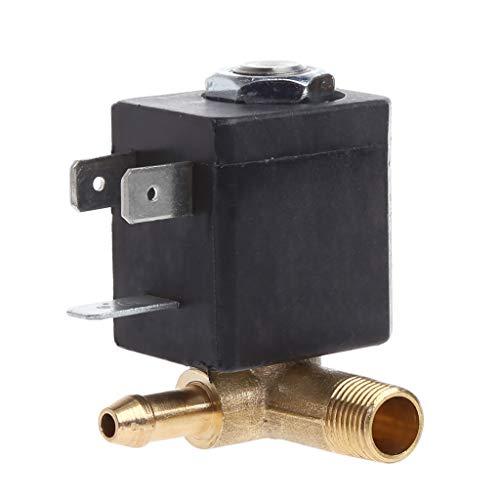 """Amarzk Cannula N/C AC 230V G1/8"""" generador de Aire de Vapor de latón, válvula de solenoide de Agua, café"""