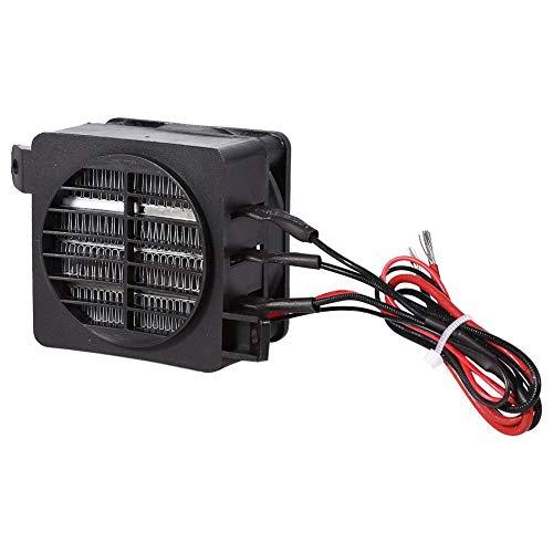 Calentador eléctrico de 100W 12V calentador de PTC ahorro de energía ventilador de aire del coche elemento de calefacción de temperatura constante