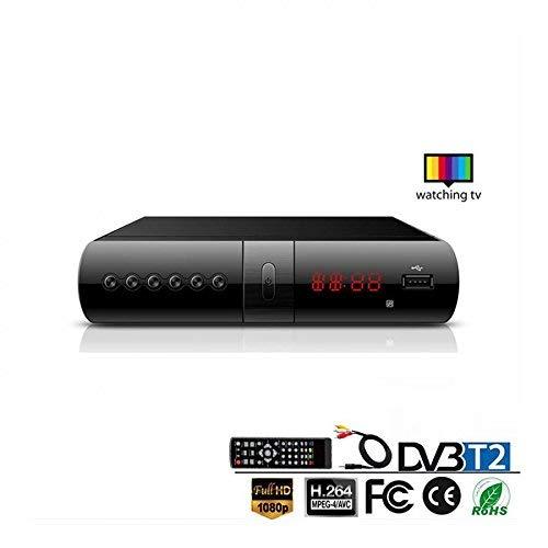 DECODER DIGITALE TERRESTRE RICEVITORE DVB-T2/T FULL HD SCART USB E HDMI MPEG4 JPEG