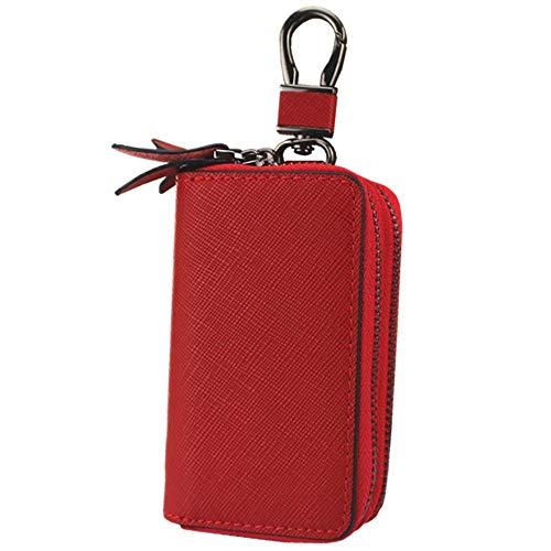 Astucci Portachiavi,Zipper Car Key Bag Multi-Function Elegante Personalità Minimalista Wild Unisex...