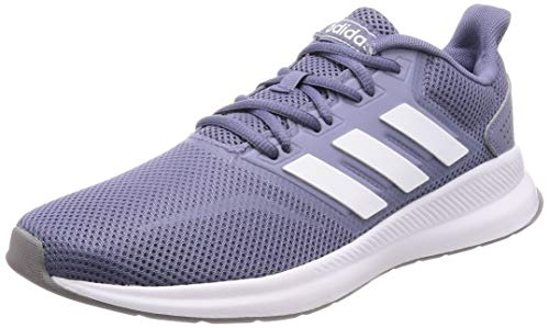 adidas Damen RUNFALCON Laufschuhe, Blau (Raw Indigo/Footwear White/Grey 0), 38 EU